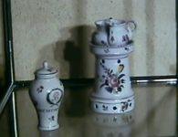 Mostra della Ceramica Toscana. Maioliche e porcellane di Doccia . Dal 28 maggio all' 11 giugno 1972  Palazzo Comunale di Monte San Savino